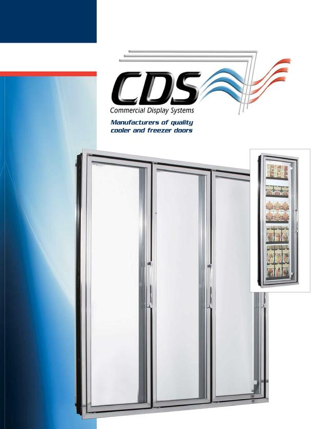 Commercial Display Glass Reach-in Doors Coolers Freezers